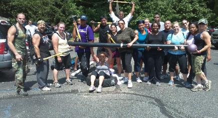 Boot Camp group fitness classes, Bergen county nj, rockland county