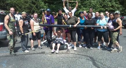 Boot Camp and Boxing in Rockland County, Personal Training, outdoor workout