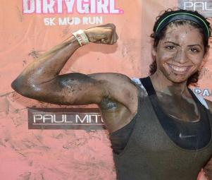 one on one personal training client for mud run and spartan race, Nanuet NY