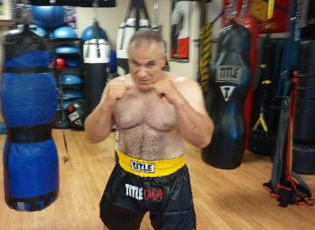 Boxing and kickboxing class in rockland county, seniors fitness