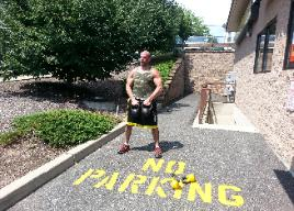 Personal Training Studio Rockland County, Outdoor kettlebell Conditioning workout