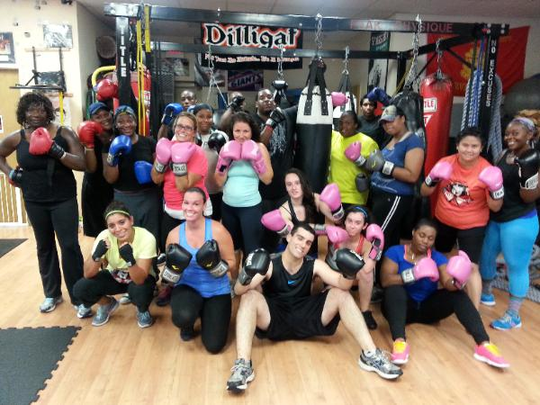 Boxing, Kickboxing, Boot Camp Group Fitness class in Rockland County, Picture