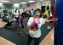 Eva Pregnant Personal Training, group fitness classes, Rockland Gym