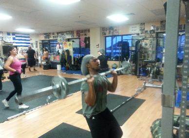 Strength cardio Coot Camp classes with personal trainer in rockland