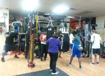boxing, free boxing in rockland, heavy bag drills, group fitness, boxing classes, free boxing all ages