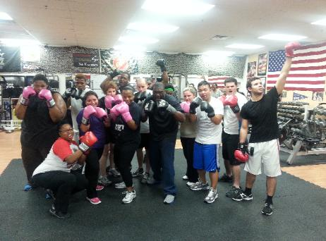 Bootcamp, Boxing, Rockland County Free Boxing Group, Group of Boxers