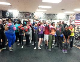 Personal training studio, best gym in rockland county, group boxing boot camp class picture