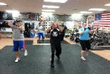 Boxing Kickboxing class with personal trainer, in Rockland county studio gym