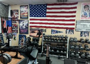 pic of Personal training studio in rockland county ny, weight lifting boot camp class