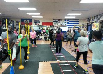Weight Loss Boot Camp class, obstacle course circuit training pic, Challenge Rockland