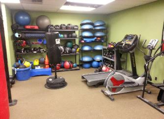 one on one personal training studio gym, nanuet, rockland county, bosu balls medicine balls