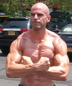 Personal Trainer in Nanuet NY, Rockland County, Outdoor workouts, Steve Eckert