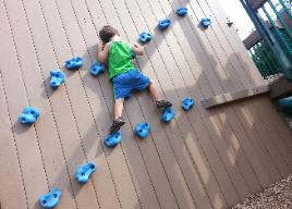 tyson wall climbing, kids fitness in nanuet