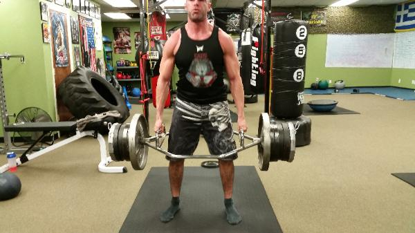 Strength Personal trainer Rockland gym, doing Deadlifts