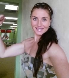 Female Personal trainer for weight loss in Nanuet Gym, Eva Eckert