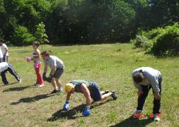 Bootcamp workouts, boxing outdoors
