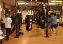 Weight Loss Challenge Boot Camp Boxing Class in Rockland, heavy bag drills