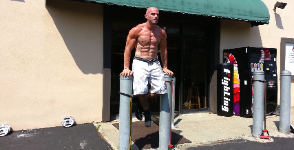 Get in Shape, Ab exercises, Personal Training gym outdoors in Nanuet NY