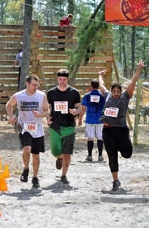 Weight Loss Boot Camp class, training for Spartan Race Rockland County