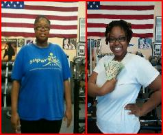 weight loss, bootcamp classes, results, winning cash