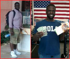 One of our personal training clients, winner of weight loss boot camp in Rockland county