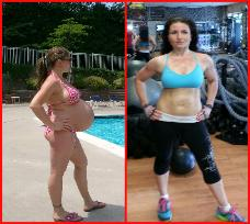 Eva weight loss personal trainer after pregnancy