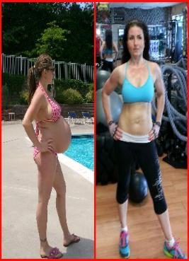 Pregnancy weight loss, muscle toning, abs, weight management