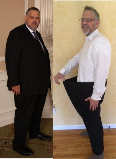 Personal training gym in Nanuet helped him with over 100 pound weight loss